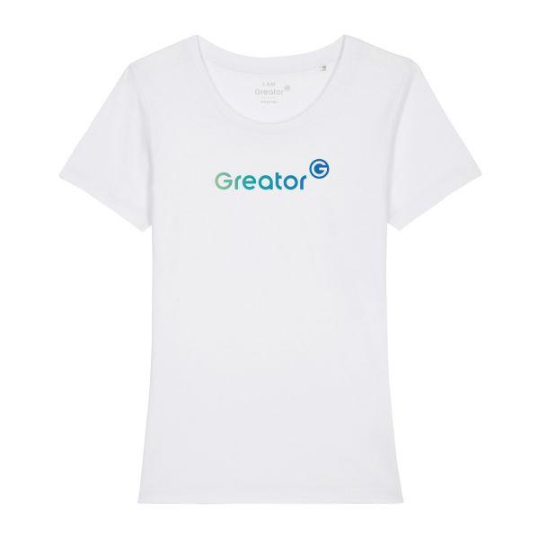 Damen Organic T-Shirt, classic, white
